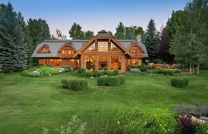 Luxury Vacation Homes Mountains