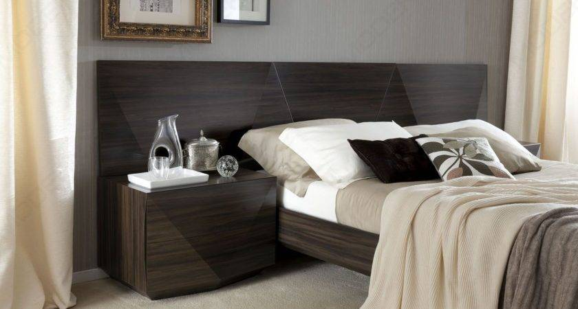 Made Italy Wood Luxury Bedroom Furniture Sets Long