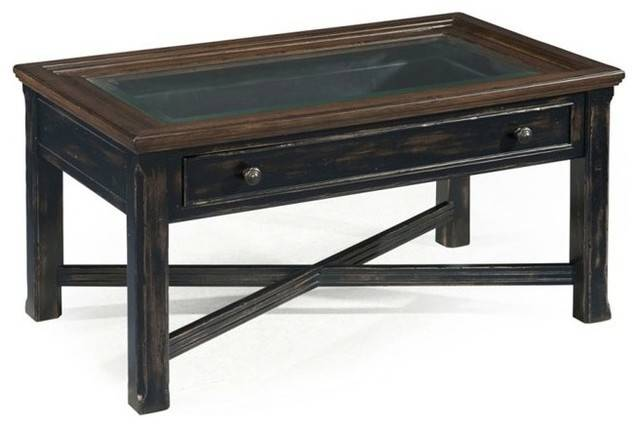 Magnussen Clanton Wood Small Rectangular Coffee Table