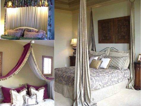 Make Bed Canopy Diy