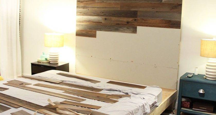 Make Diy Wooden Headboard Fresh Crush