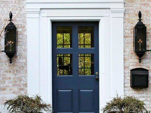 Make Dramatic First Impression Painted Front Doors
