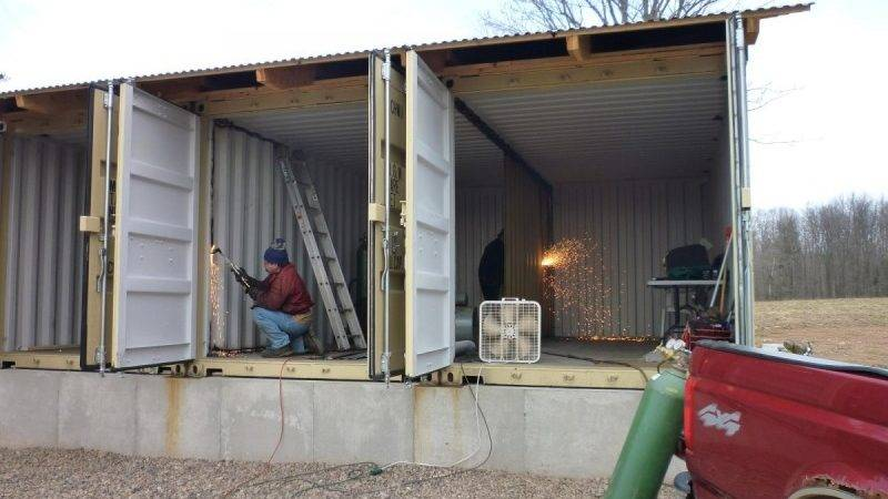 Make House Out Shipping Containers Container