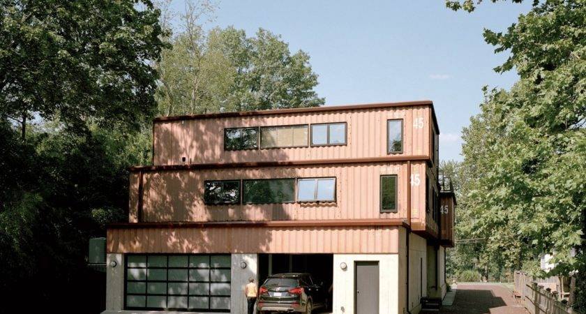 Make House Out Shipping Containers