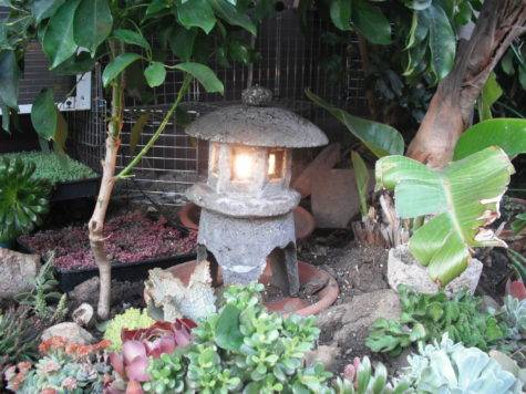 Make Japanese Garden Lantern Out Hypertufa