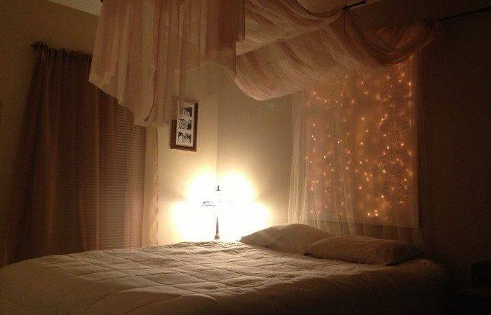 Make Magical Bed Canopy Lights Diy Projects