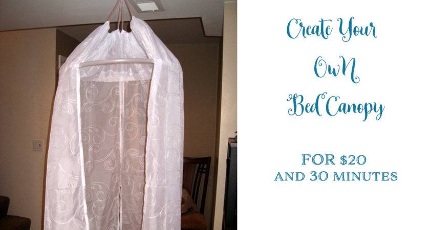Make Your Own Bed Canopy Create