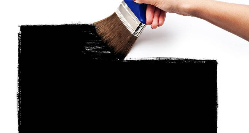 Making Work Painting Wall Simple Black