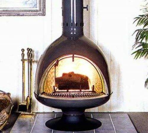 Malm Fireplaces Fire Drum Freestanding Woodburning