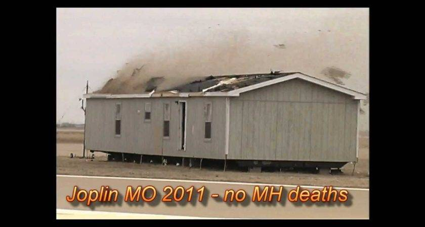 Manufactured Home Hit Tornado High Winds Youtube