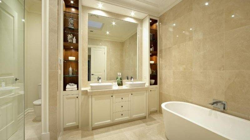 Marble Bathroom Design Australian Home