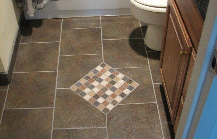 March Bathroom Floors