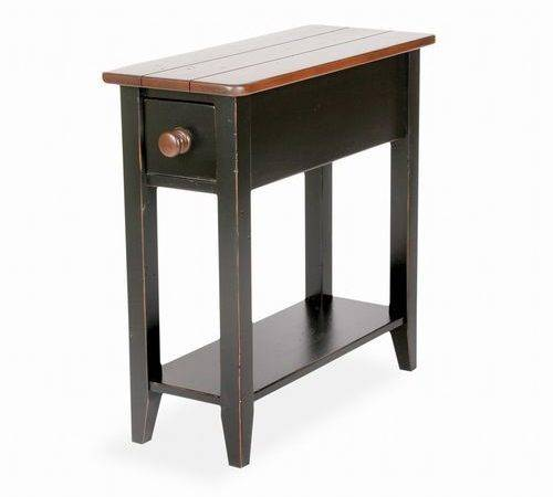 Marvelous Small Night Tables Very Narrow Accent