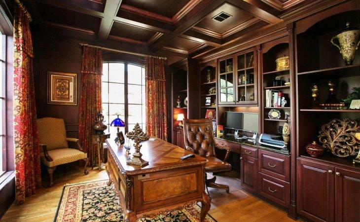 Masculine Home Office Designs Decorating Ideas