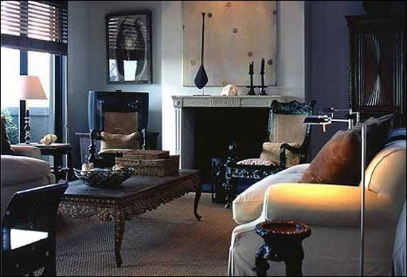 Masculine Living Rooms Exotic House Interior Designs