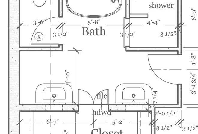 Master Bathroom Floorplans Find House Plans