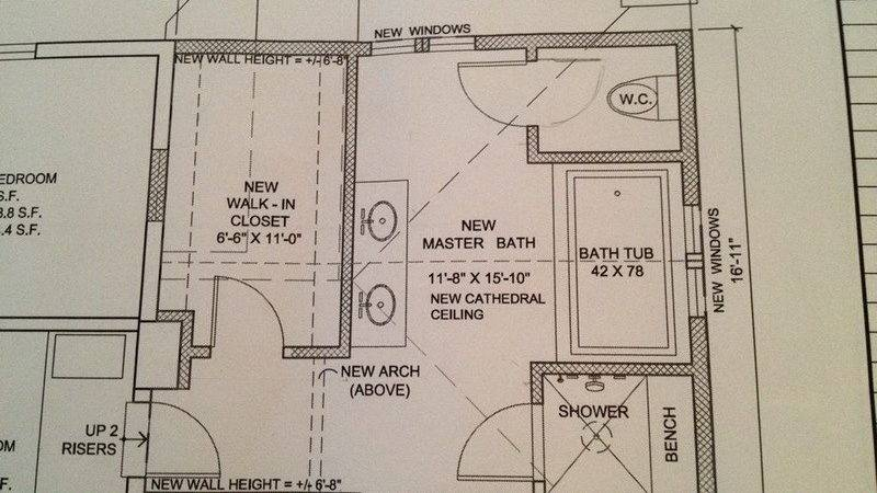 Master Bathroom Layouts Planning Ideas