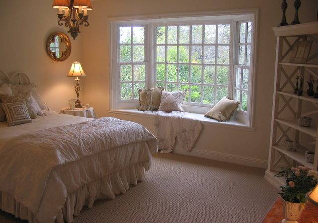 Master Bedroom Bay Window Sisal Look Carpet