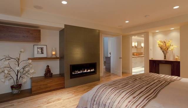 Master Suite Build Out Garage Contemporary Bedroom