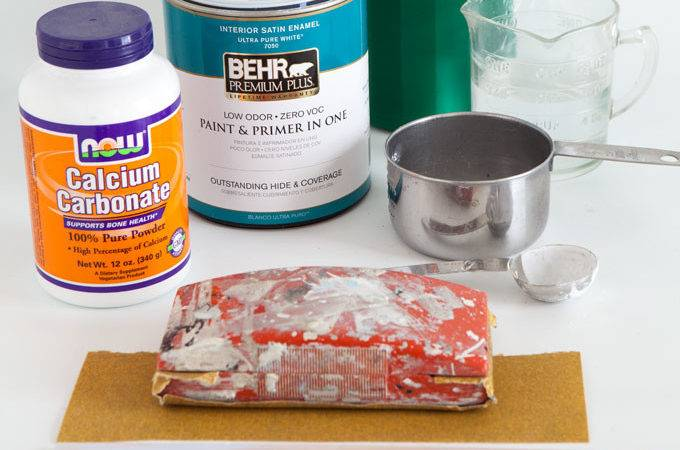 Materials Needed Make Chalk Paint Own Style