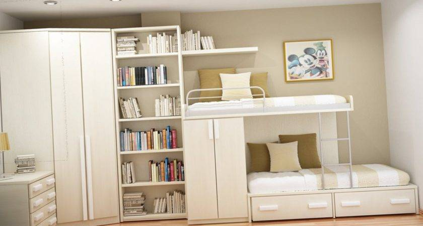 Maximize Space Small Bedroom