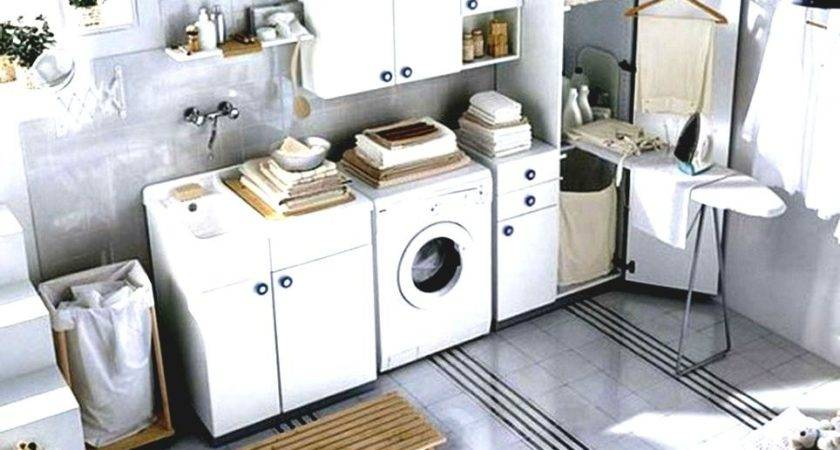 Maximizing Small Laundry Room Tips Ideas Modern