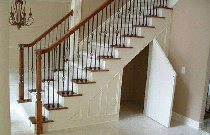 Maximizing Small Spaces Under Stairs Storage Des