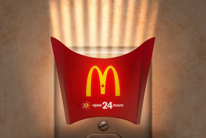 Mcdonalds Night Light Inspiration Room