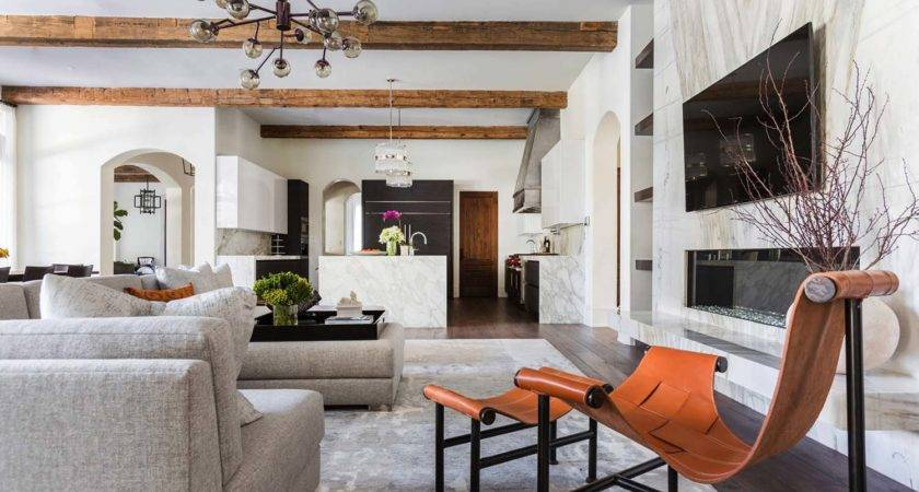 Mediterranean Style Texan Home Light Flooded Interiors