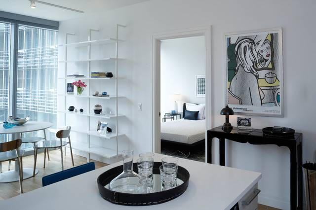 Mercedes House Midtown Modern Interior Design Bedroom