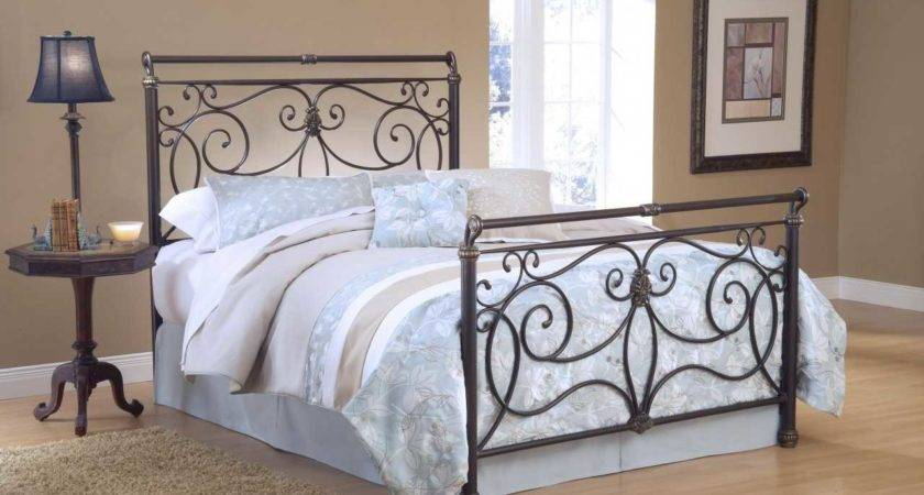 Metal Headboards Footboards Also Charming
