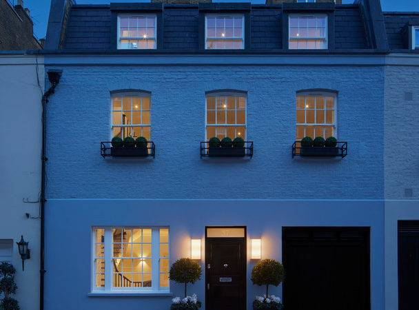 Mews House Belgravia Transitional Exterior London