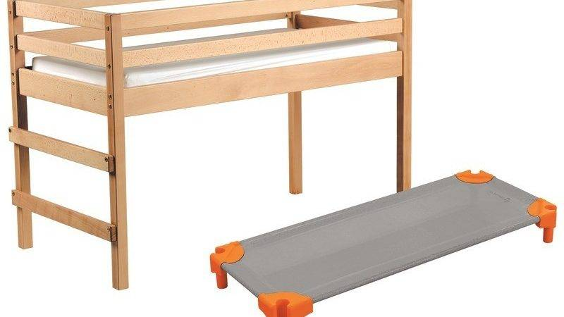 Mezzanine Bed Maxi Packsolid Wood