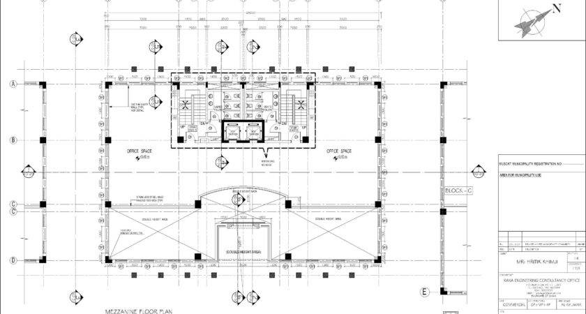 Mezzanine House Plans Front Base Model Similar