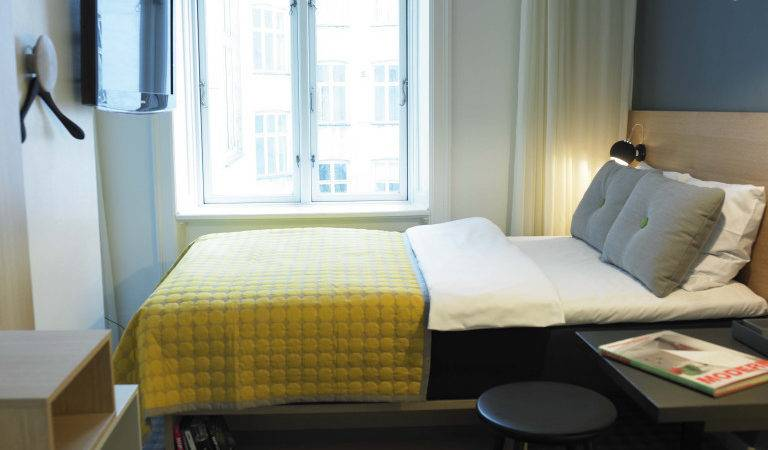 Micro Hotel Rooms Rise Cozy Mattress Powered