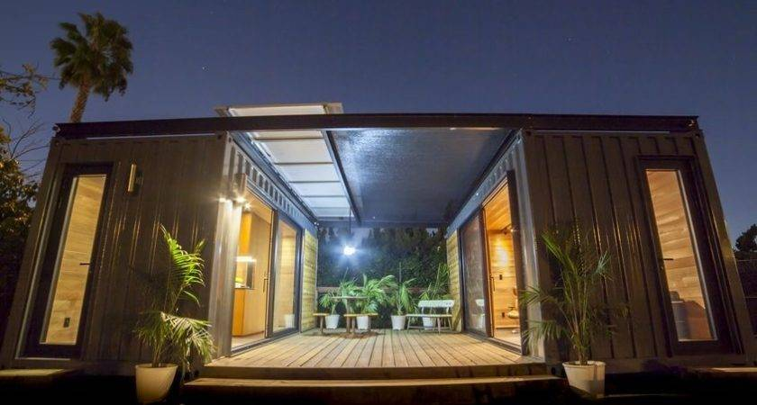Micro Shipping Container Living