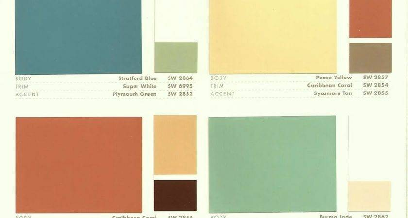 Mid Century Modern Homes Exterior Paint Color Native