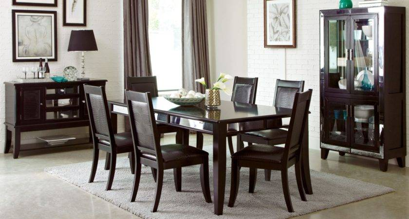 Middleton Cappuccino Extendable Rectangular Dining Room