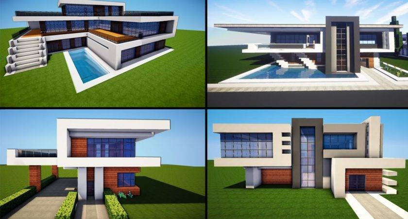 Minecraft Awesome Modern House Ideas Tutorial