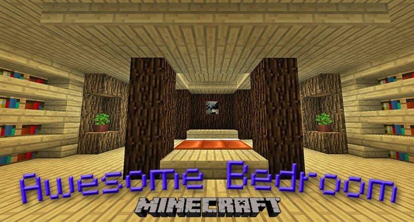 Minecraft Make Awesome Bedroom Design Youtube