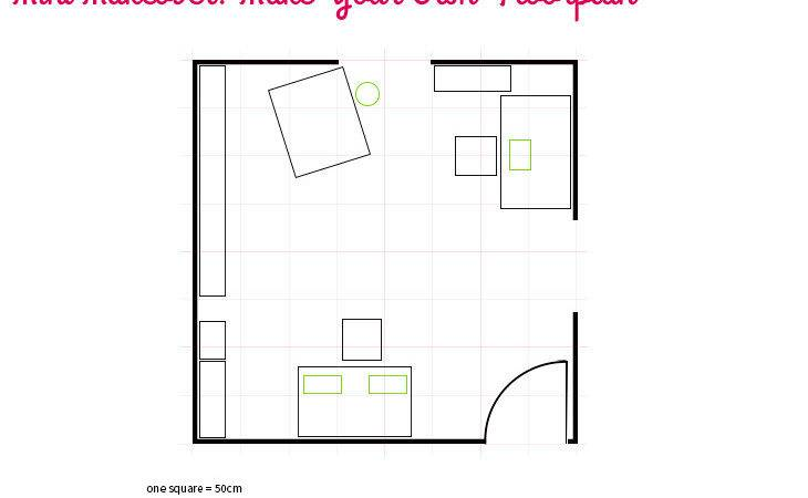Mini Makeover Make Your Own Floorplan Style Happy