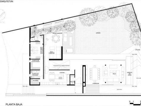 Minimalist House Plans Floor Bee Home Plan