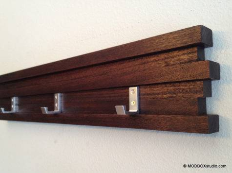 Minimalist Modern Coat Rack Key Hook Hat