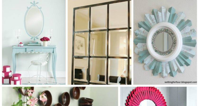 Mirror Frame Decorating Ideas All