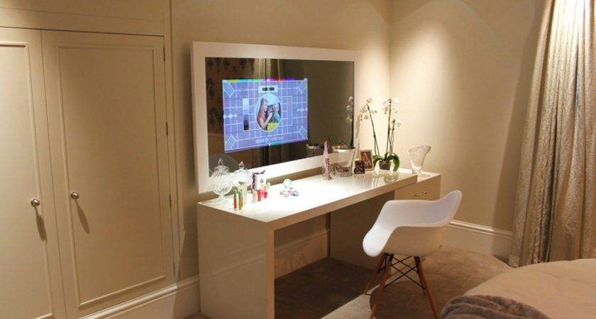 Mirror Frame Tvs Reflect Solid Growth Inside