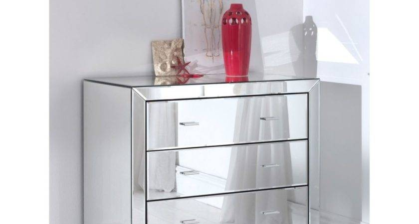 Mirrored Dresser Project Comes Drawers Chest