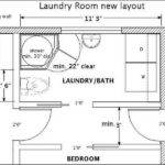 Miscellaneous Bathroom Laundry Room Layout Measurement