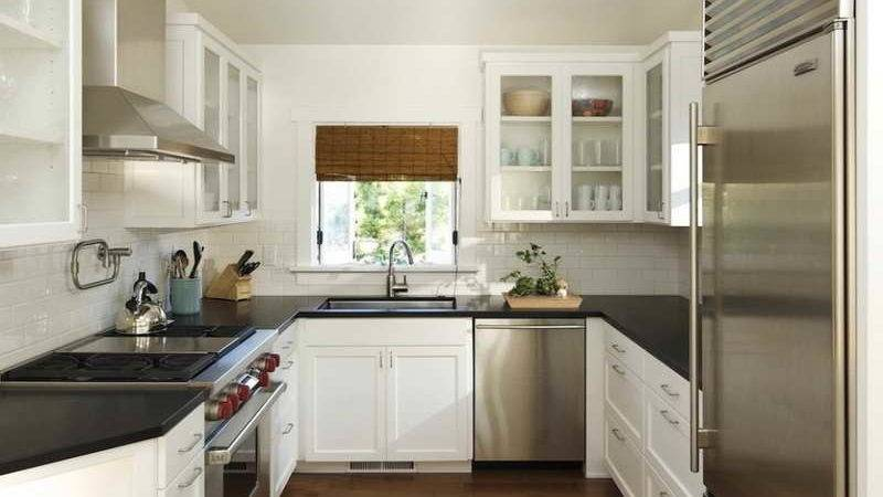 Miscellaneous Shaped Kitchen Layouts Interior