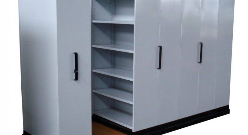 Mobile Shelving Systems Used Compactor Units