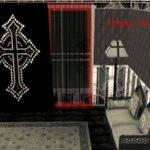 Mod Sims Victorian Gothic Curtains